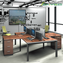 2017 Top Office Furniture Executive 4 Person Workstation Furniture