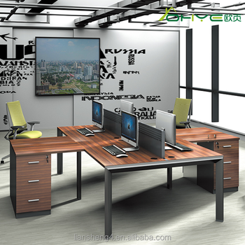 2017 top office furniture executive 4 person workstation furniture rh alibaba com Small 4 Person Workstation 4 Person Workstation Design
