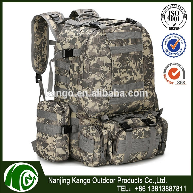 KANGO 60L Military Tactical Backpack,Army Backpack Bag,Custom Military Backpacks Tactical Molle