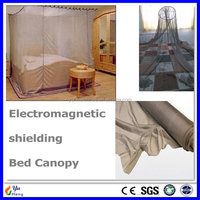 YUHENG Supply 50dB EMF protection bed canopy for single bed / 50dB EMC Shielding Material for king bed