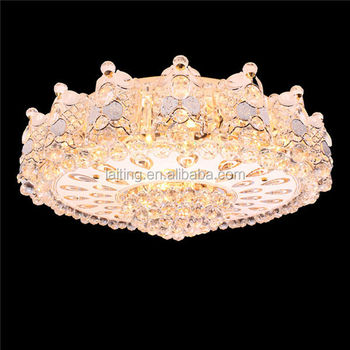 2015 New Product Decorative Lighting Ceiling Fan With