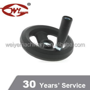 Popular Plastic Hand Wheel With Folding Handle