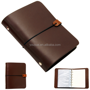 Vintage Notebook Travel Diary Leather Photo Album