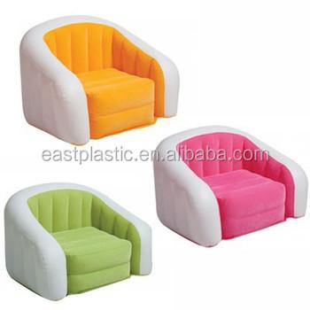 Incroyable PVC Air Sofa Kids Inflatable Arm Chair Durable Inflatable Sofa