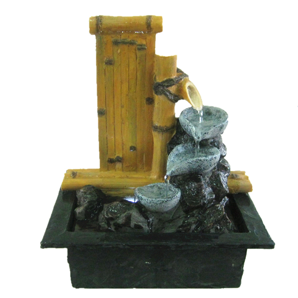 Chinese Water Flow Home Decor Bamboo Fountain