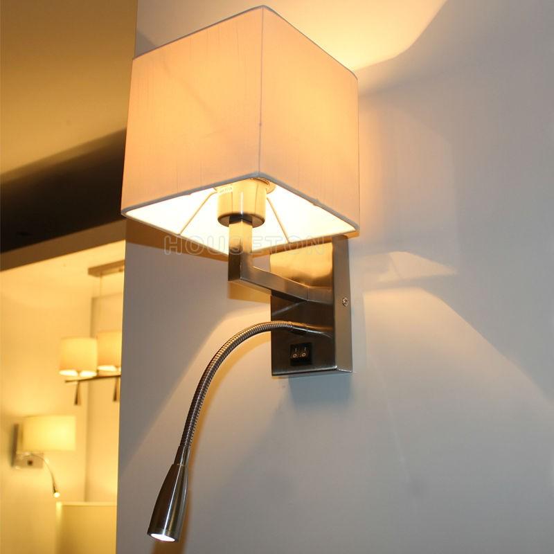 heißer verkauf führte leselampe schlafzimmer lampe wand,leselampe