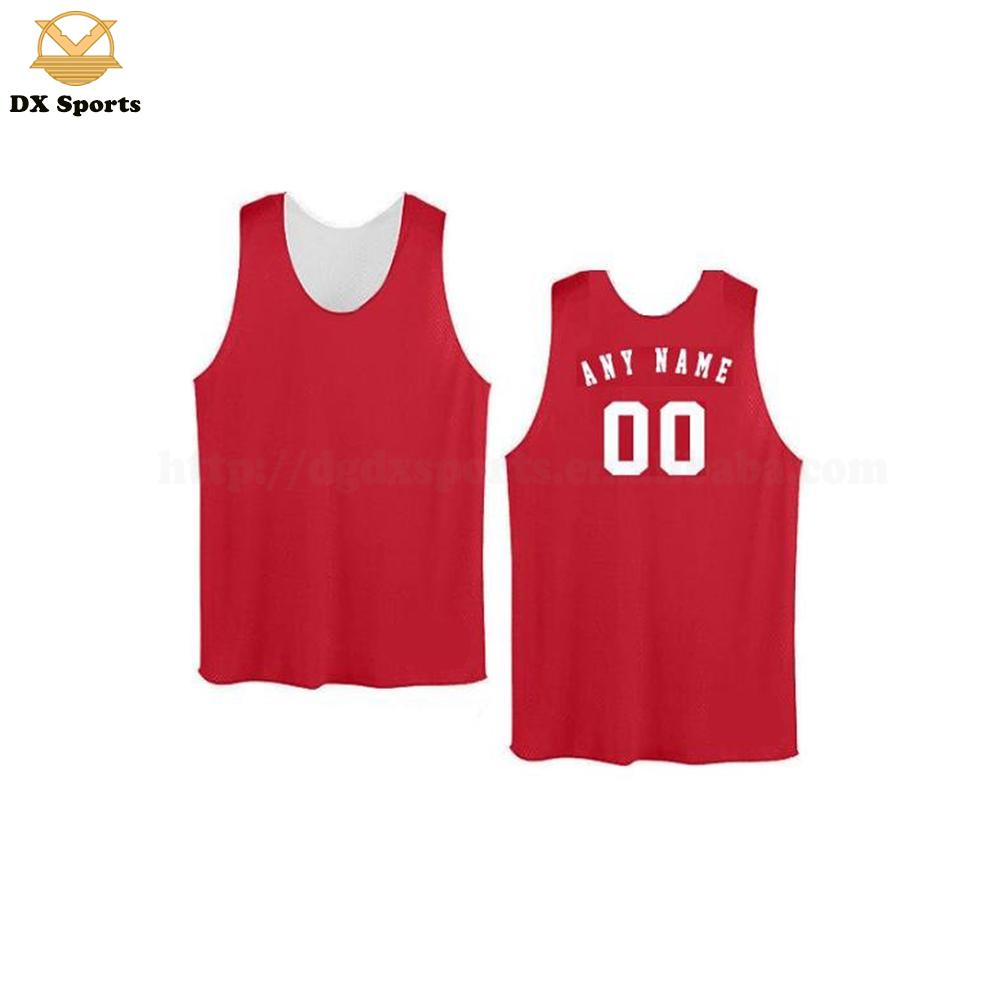 532ef3d471f9 Custom Sublimation Reverse Basketball Jerseys Tops