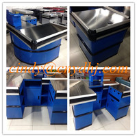 Shop Counter Design/Stainless Steel Checkout Counter/cash register