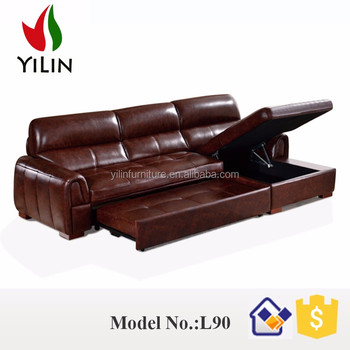 Yilin Latest Model Sofa Bed Sets Dubai Leather Furniture S80