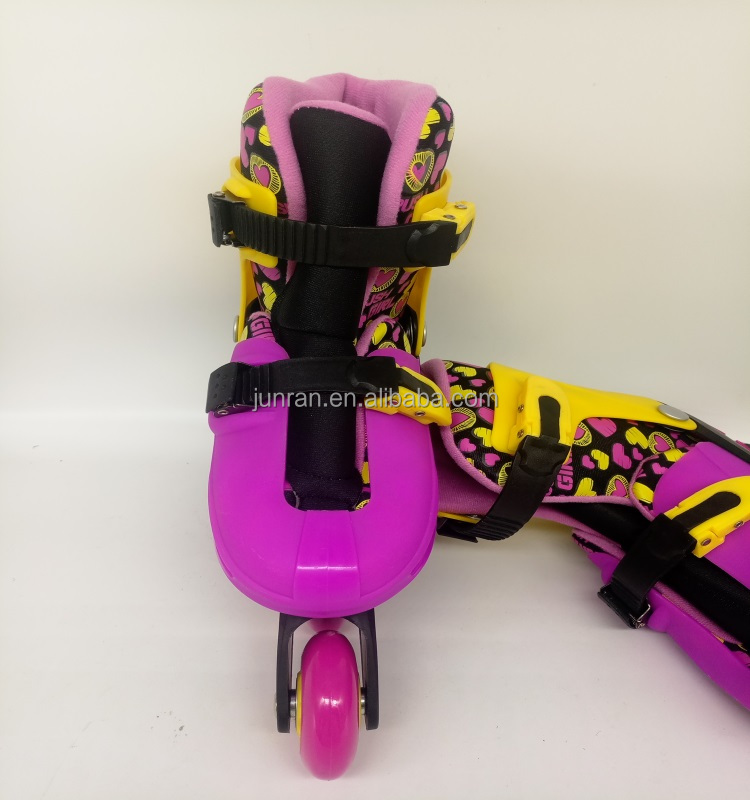 Stylish Shoe Heel Love Colorful Inline Roller Skates