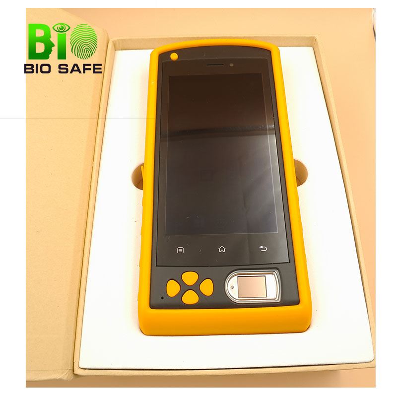 5 inch GSM 3G Android EDC/Fingerprint Handheld Device With Barcode Scanner(HF-FP05)