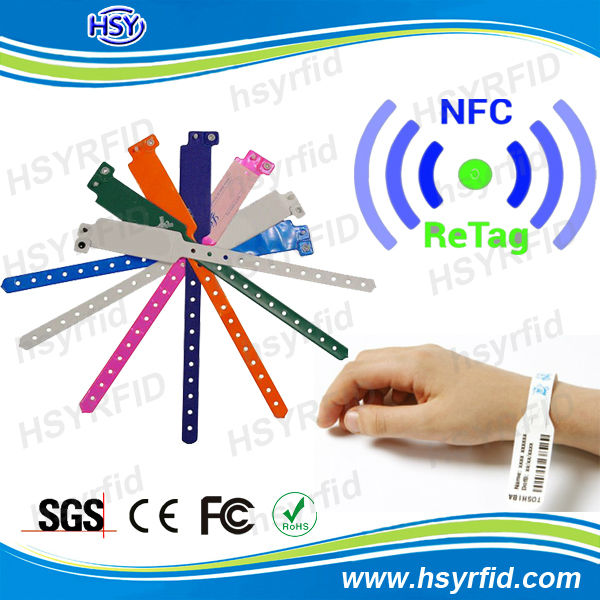 Rfid Bracelet Chip Silicone Nfc Wristband With Multi-color - Buy Silicone  Nfc Wristband,Silicon Bracelet Chip,Silicone Nfc Wristband Product on