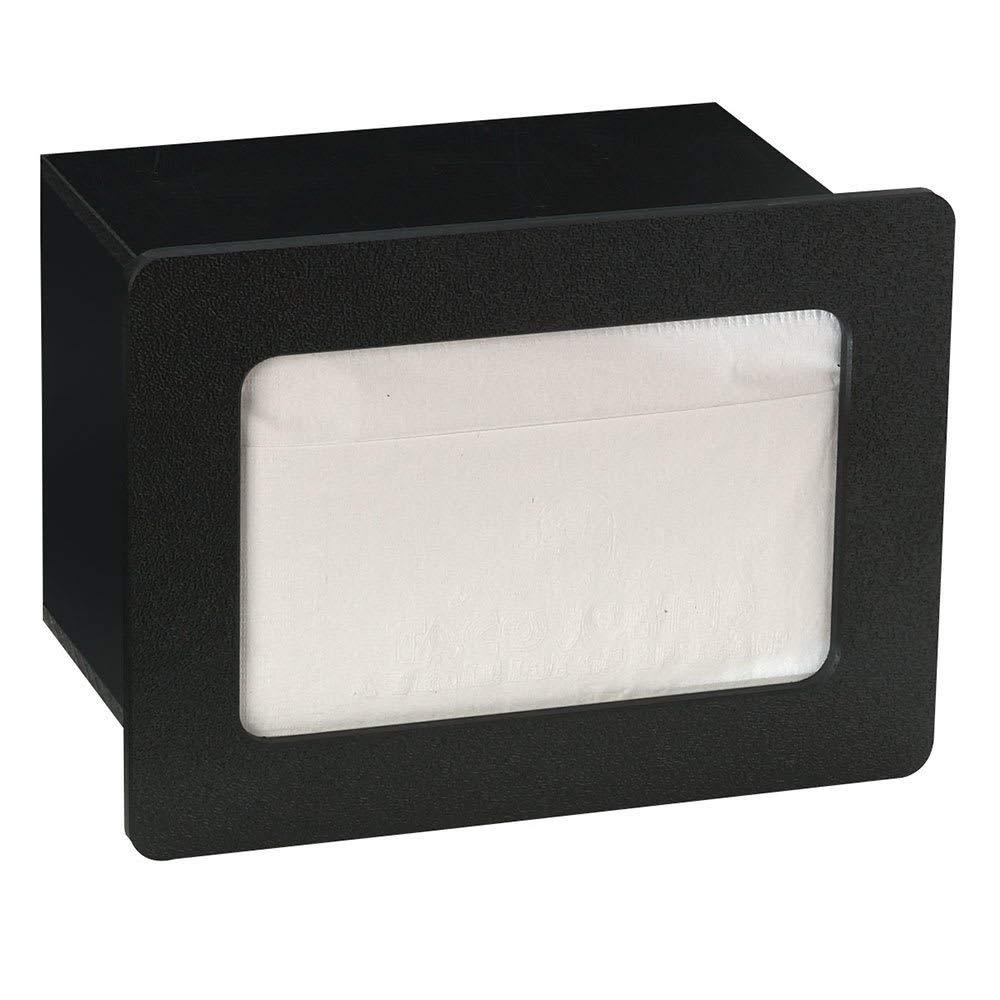 """TableTop King FMN1BT Napkin Dispenser, Built-In, Holds 4-1/2 to 5"""" X 6-1/2"""" Napkins, Polystyrene"""