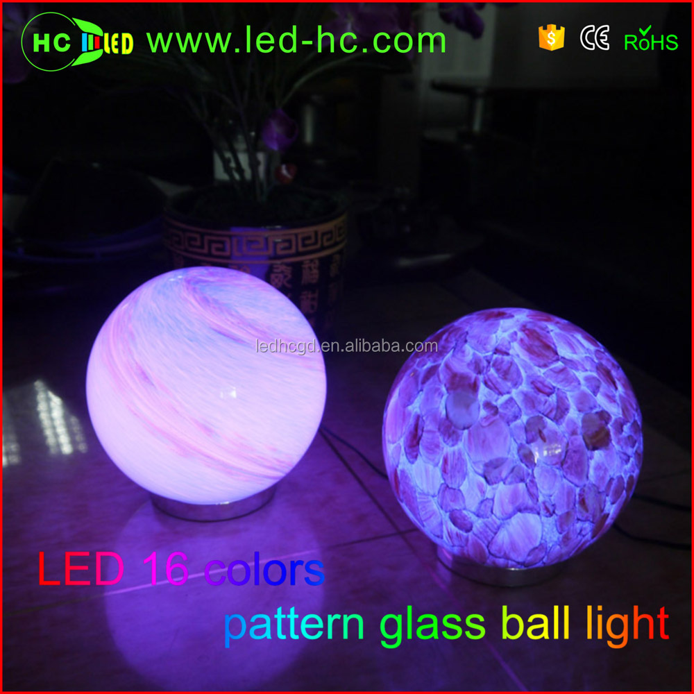 IP20 waterproof Rechargeable led light ball for outdoor using