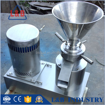 food grade fresh niblet colloid mill grinder machine