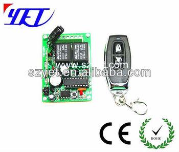 Rf Transmitter/rf Receiver/key Fob/remote Control Car Key Yet027 - Buy Car  Key Receiver,Universal Car Remote Control Transmitter,Rf Transmitter &