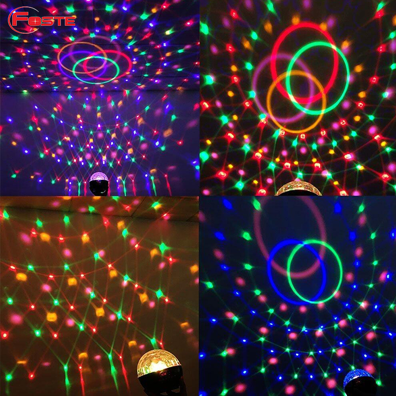 Stage/Party/Disco Bluetooth Speaker/USB Colorful LED Crystal Magic Ball Lamp Usb, Portable Wireless Speaker Factory Supply#