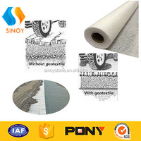 100% polyester needlepunched long fiber nonwoven geotextile earthwork products