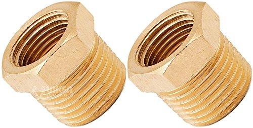 MettleAir 110-ED 3//4 Male NPT to 1//2 Female NPT Female Reducing//Reducer Bushing Brass Pipe Fitting Pack of 10