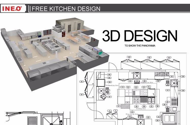 High efficiency hood type hotel industrial dishwasher commercial dishwasher price buy Commercial kitchen design cost