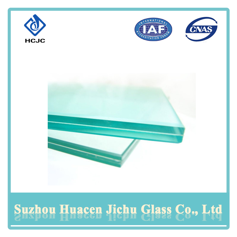 Excellent wear resistance laminated tempered aquarium glass sheet
