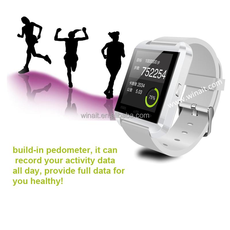 U8 Smartwatch 2018 Smart Watch Impor China, Watch Cell Phone untuk Dijual