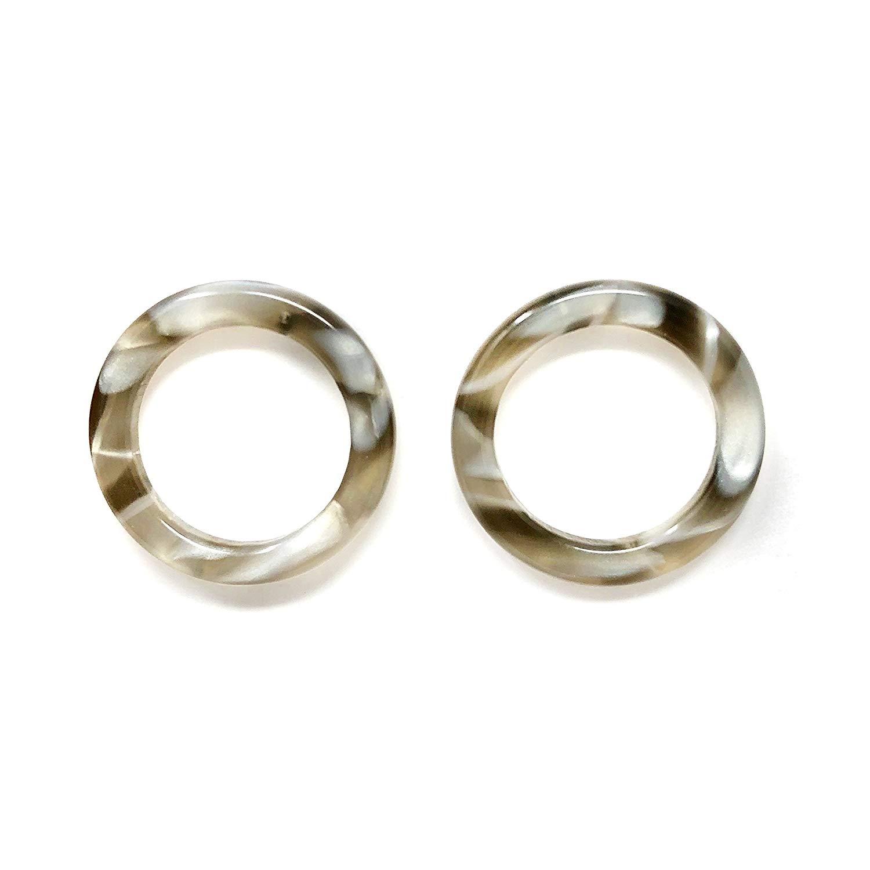 Tortoise Shell Earrings | Tortoise Earrings | Tortoise Hoop Earrings | Tortoise Shell Hoops | Acrylic Earrings | Resin Earrings | Tortoise