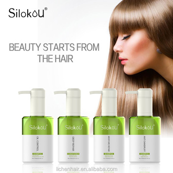 Silokou Professional Hair Care Shampoo Oil Control Refreshing Herbal Shampoo