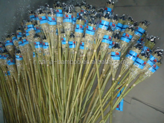 Outdoor bamboe tuin citronella kleur vlam bamboe olie kaars torch