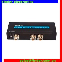 Fabrika Fiyat 1x2 3G/HD/SD SDI <span class=keywords><strong>BNC</strong></span> SDI Video <span class=keywords><strong>Splitter</strong></span> 1 2 out 1080 P