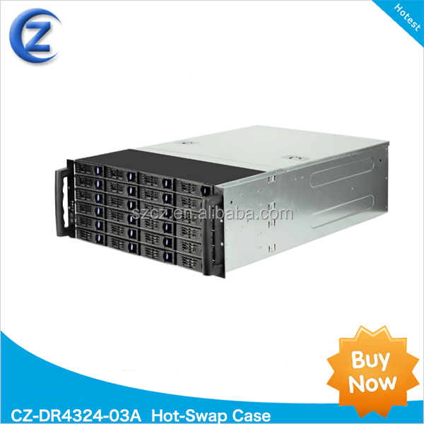 4U 24HDD CZ-DR4324-03A Hot-Swap Case for 4U server