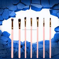 Cosmetics makeup brushes factory custom logo lip makeup brush set