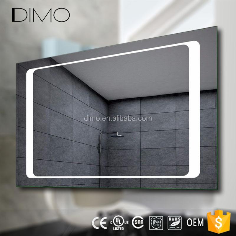 Led verlichte badkamer touchscreen smart spiegel prijs met for Spiegel 90x120