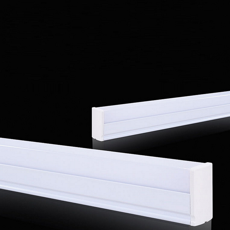 Energy efficient t5 led integrated square light tube