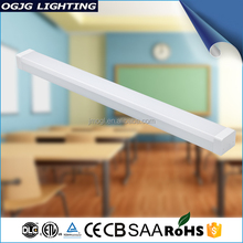 Top Quality Etl Dlc Hanging Cabinet Lighting Pendant Suspended Trunking Led Linear Light Fixture