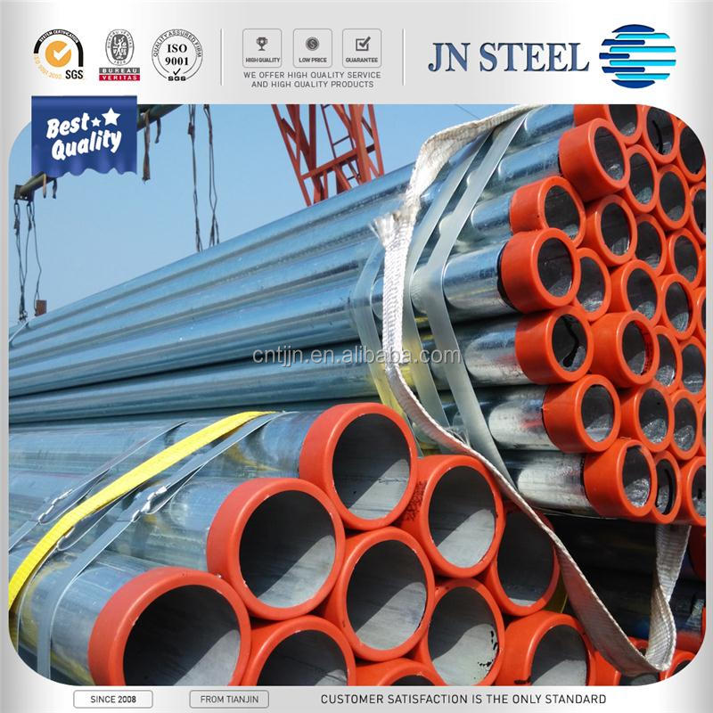 BSP Threaded Mild Hot Dipped Galvanized Steel Pipes