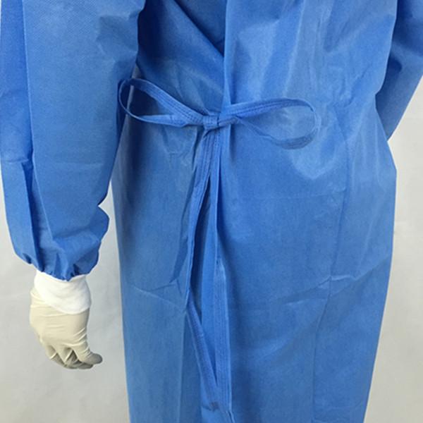 c49e60cb7 Ropa de Hospital paciente quirúrgico estéril desechable de protección médica  vestido