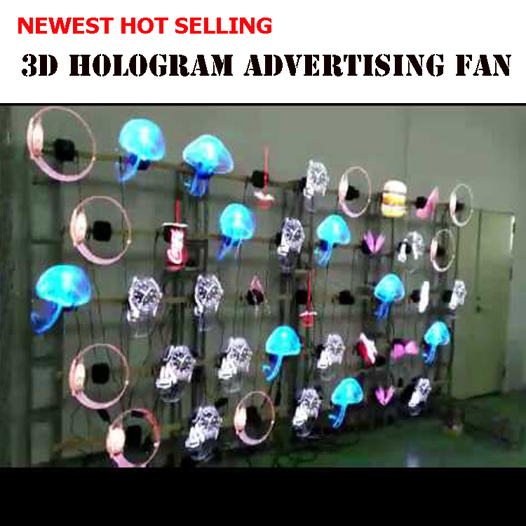 High Resolution Small Size 35cm 3d Hologgraphic Led Fan Display,Cheap 3d  Hologram Advertising Fan - Buy 35cm 3d Holographic Led Fan Display,Cheap 3d