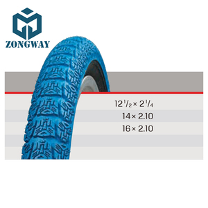 ZONGWAY Blue Children Bikes Rubber Tire Bicycle Tyre WTKBYK021