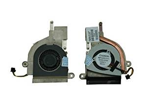 New CPU Cooling Fan For HP Netbook Mini 110-3000, 210-2000, 1103 Compaq MINI CQ10-688NR CQ10-689NR CQ10-600LA CQ10-601LA Laptop Cooling Fan - 622330-001 G40A05NS1ZZ