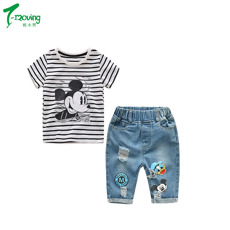 Clothing Sets Nice Fashion Summer Infant Baby Kids Girls 3d Flower Casual Cotton Set Short Sleeve Tops Shirt Denim Hot Pants Outfits Clothes Set To Enjoy High Reputation In The International Market