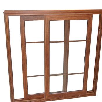 Veranda Double Toughened Glazing Aluminum Sliding Window Grill Design Pictures Soundproof ...