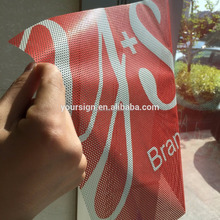 Printable Micro Perforated Vinyl Sticker One Way Vision Window Screen
