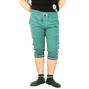 Best quality slim fit mens woven shorts with button