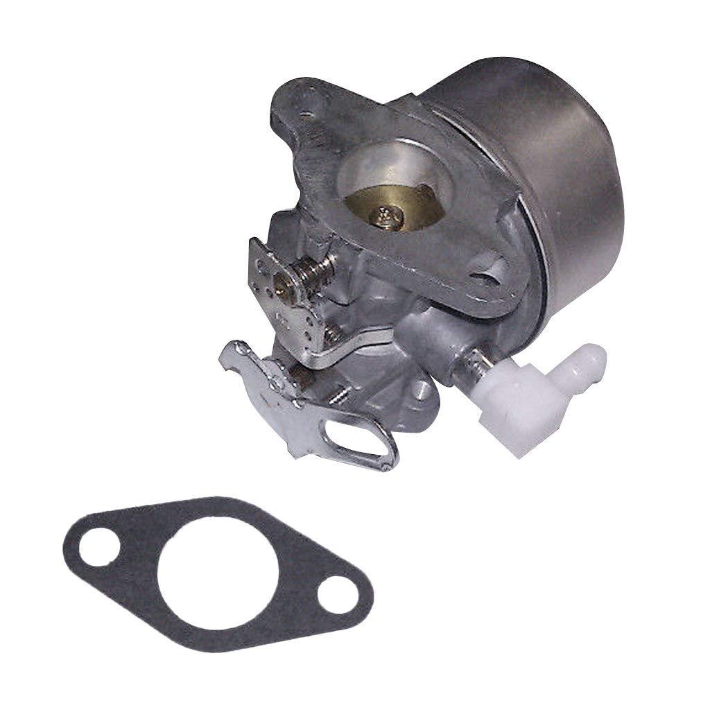 NIMTEK New Carburetor Including Mounting Gasket for Tecumseh 632113 or 632113A fits HS40 HSSK40 Engines 632113A 632113