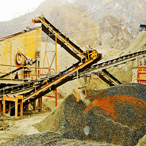 Widely used aggregate crushing plant for construction concrete