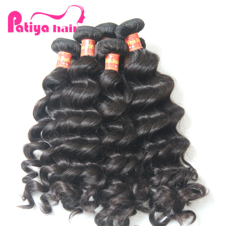 Top Grade Wholesale Brazilian Virgin Hair Extenion,100% Unprocessed Natural Hair Extensions