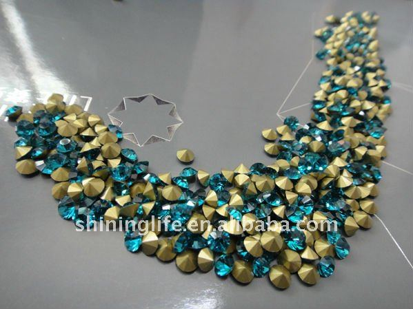New 2014 wholesale color crystal,stones for clothes decoration