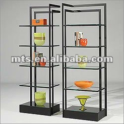metal etagere multilayer stand antique brochure display