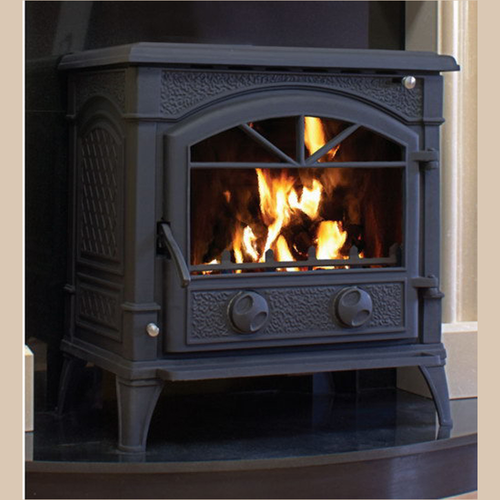 heater mahogany indoor heating wood freestanding saxon barbeques heaters galore fireplace